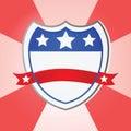 United States shield Royalty Free Stock Photo