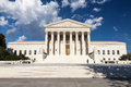 United states supreme court building dc in washington Royalty Free Stock Image