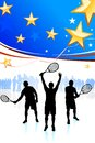 United States Tennis Team Royalty Free Stock Photo