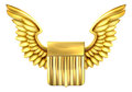 United States Winged Shield Royalty Free Stock Photo