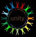 Unity and  peace Royalty Free Stock Photo