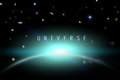 Univers Image stock