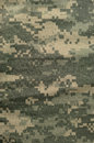 Universal camouflage pattern army combat uniform digital camo usa military acu macro closeup detailed large rip stop fabric Stock Images
