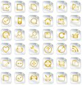 Universal icon set Royalty Free Stock Images