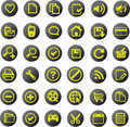 Universal icon set Royalty Free Stock Photo