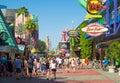 The Universal Orlando Resort theme park Royalty Free Stock Photo