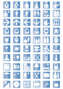 Universal  Outline  Icons Stock Photos