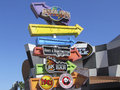 Universal studios florida is a theme park located in orlando opened on june the park s theme is the entertainment industry Stock Photo