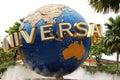 Universal studios singapore on sentosa island Royalty Free Stock Image