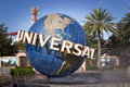 Universal studios theme park entrance Stock Photography