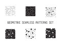 Universal vector lineal geometric seamless pattern Royalty Free Stock Photo
