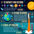 Universe concept isometric new horizons the big bang theory banner infographic new bright palette d flat vector icon set planets Stock Photos