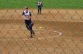 Universiteit van virginia pitcher Royalty-vrije Stock Foto