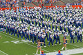 University of Florida's Marching Band Royalty Free Stock Photo