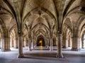 University of Glasgow cloisters Royalty Free Stock Photo