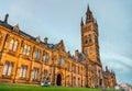 University of Glasgow Main Building Royalty Free Stock Photo