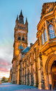 University of Glasgow Main Building Royalty Free Stock Photo