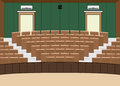University lecture main hall with a Large Seating Capacity Royalty Free Stock Photo