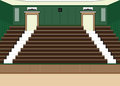 University lecture main hall with a Large Seating Capacity. Royalty Free Stock Photo