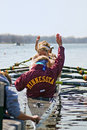 University of Minnesota Rowing Royalty Free Stock Images