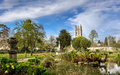 University of Oxford Botanic gardens Royalty Free Stock Photo