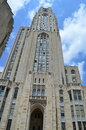 University of pittsburgh cathedral of learning this photo was taken in the a landmark listed in the national register historic Royalty Free Stock Photography