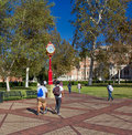 University of Southern California Royalty Free Stock Photo