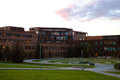 The university of tromso norway tromsø arctic norwegian universitetet i tromsø norges arktiske universitet is Royalty Free Stock Image