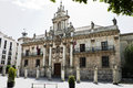 University in Valladolid Royalty Free Stock Photos