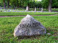 Unknown Grave Royalty Free Stock Photo