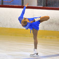 Unknown skater competing galati romania october in the event cristal skate of romania on october in galati romania Royalty Free Stock Photos