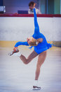 Unknown skater competing galati romania october in the event cristal skate of romania on october in galati romania Royalty Free Stock Image