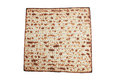 Unleavened bread stack of traditional jewish passover Stock Image