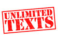 UNLIMITED TEXTS Royalty Free Stock Photo
