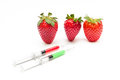 Unnatural strawberry Royalty Free Stock Photo