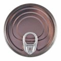 Unopened aluminium tin can. Royalty Free Stock Photo