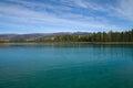 Unreal water color and clarity at Boya Lake Provincial Park, BC