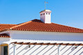 Unrecognizable Part of Residential House at Algarve, Portugal Royalty Free Stock Image
