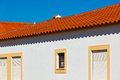 Unrecognizable Part of Residential House at Algarve, Portugal Stock Photos
