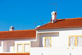 Unrecognizable Part of Residential House at Algarve, Portugal Royalty Free Stock Images