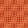 Golden pattern pattern with a red background as an abstract background