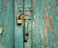Unused Lock Royalty Free Stock Photography