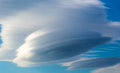 Unusual Cloud Formation Royalty Free Stock Photo