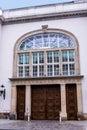 Unusual Doorway in the city of Berlin Germany.