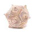 Unusual knitted object - dodecahedron Royalty Free Stock Photo