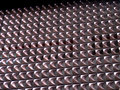 Unusual metal pattern Stock Photo