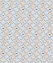 Unusual and simple abstract geometric pattern, vector seamless