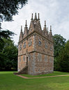 Unusual Triangular Lodge House