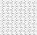 Unusual vintage abstract geometric pattern trendy white triangle seamless background vector file layered for easy editing Royalty Free Stock Photos
