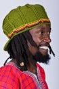 Uomo di Rasta Fotografia Stock Libera da Diritti